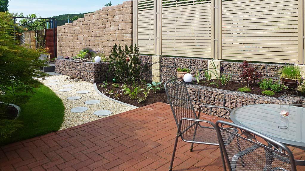 Gartenmauern von Außengestaltung Vogt